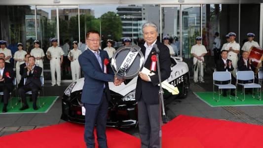La policía japonesa introduce un Nissan GT-R en su flota: Escapar de ellos no será tarea fácil