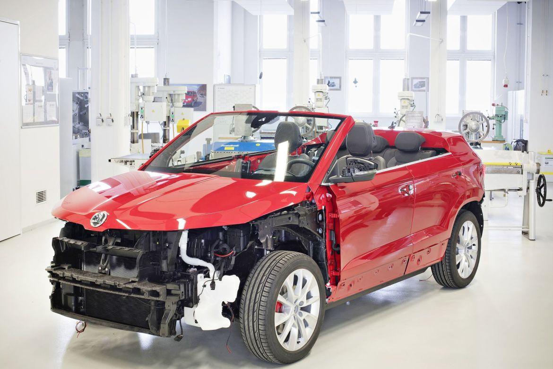 Škoda Sunroq: Así es el Karoq Cabrio que no verás en la calle (por ahora)