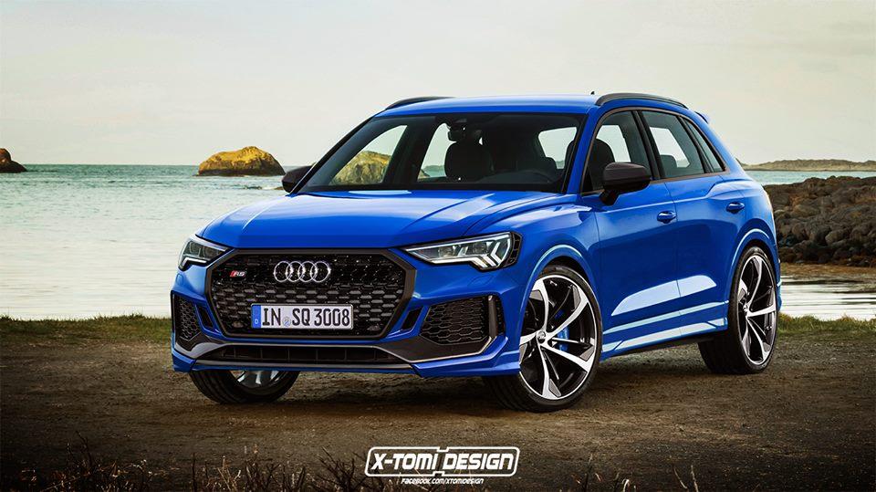 El Audi RS Q3 podría compartir motor con el Tiguan R