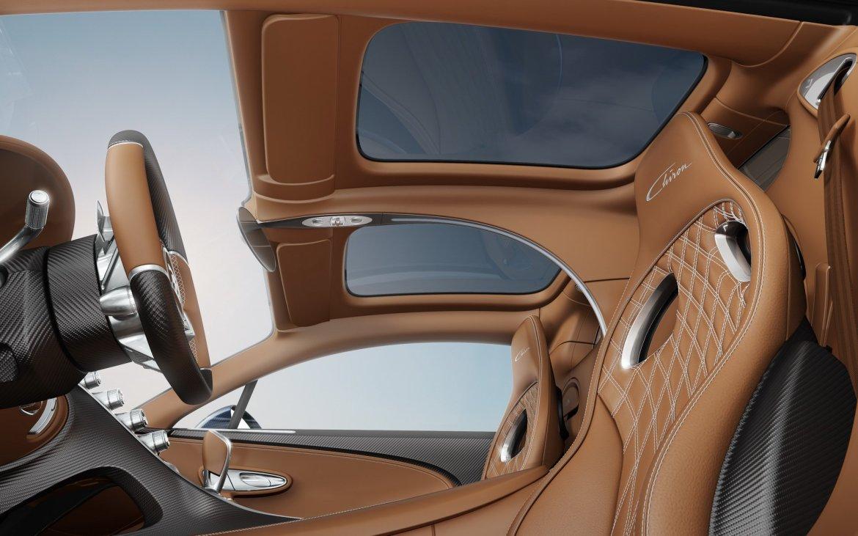 """El Bugatti Chiron te permitirá ver el cielo gracias a su opción """"Sky View"""""""