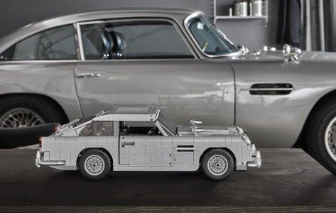 Gracias a LEGO ya puedes tener el Aston Martin DB5 de James Bond: ¡Con asiento eyectable!