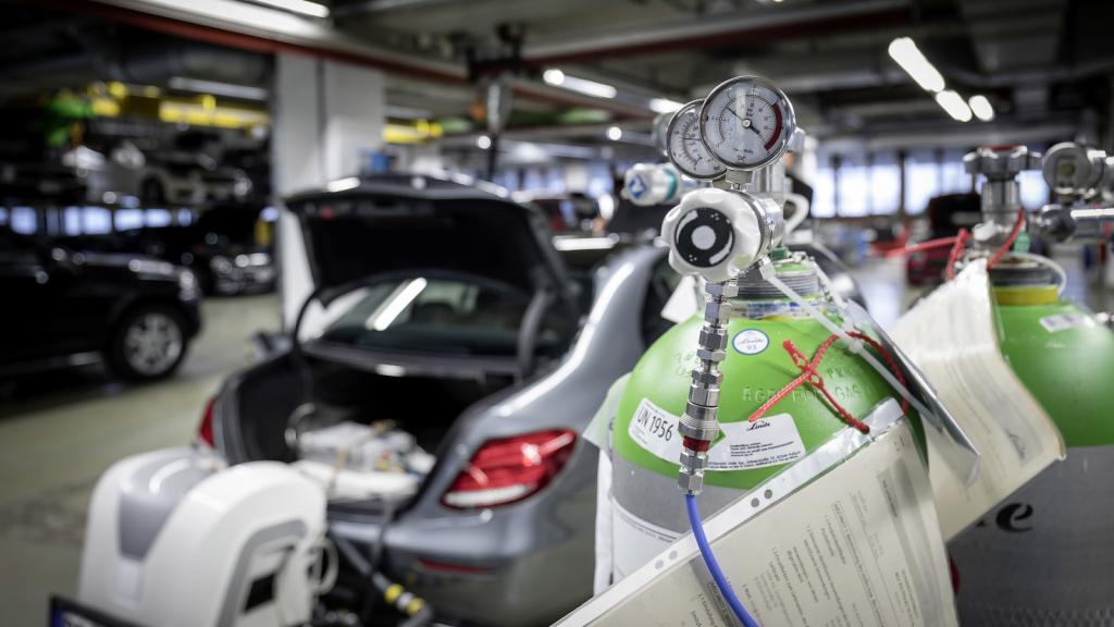1 millón de Mercedes a revisión por manipular las emisiones de gases contaminantes