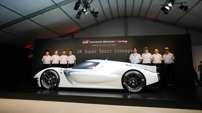 El Toyota GR Super Sport será muy rápido... y muy exclusivo