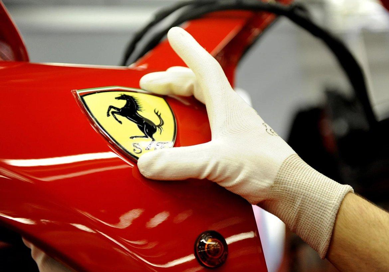 Ferrari estrena su pintura eficiente a 'baja temperatura'