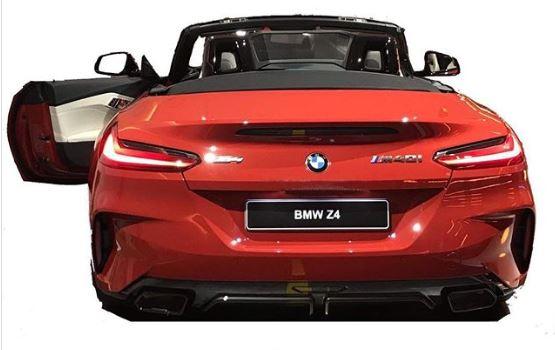 ¡Filtrado! Así es el BMW Z4 M40i