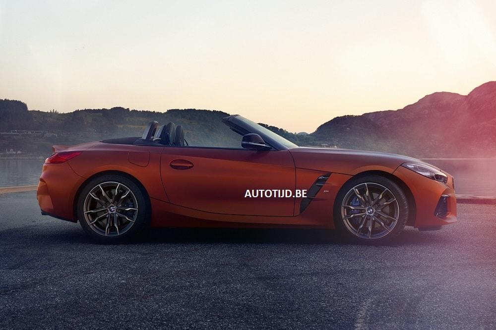 ¡Más filtraciones del nuevo BMW Z4! El roadster, al desnudo
