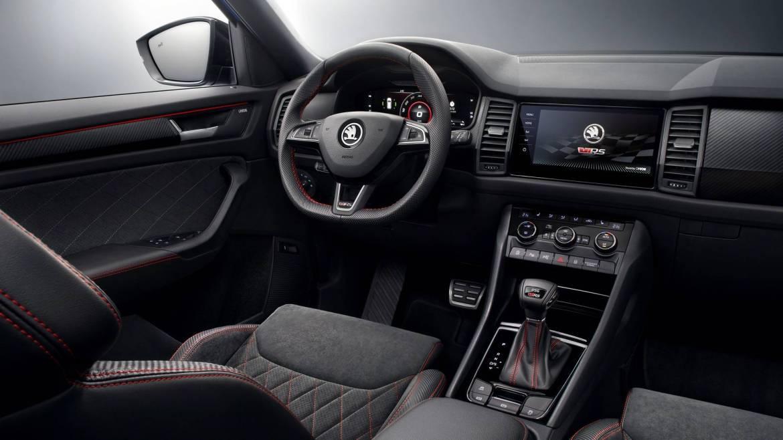 Así es el interior del nuevo Skoda Kodiaq RS