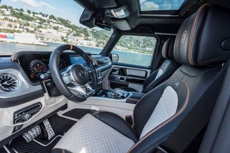 BRABUS empuja al abismo al Mercedes-AMG G63 700 Widestar: ¡700 CV de potencia!