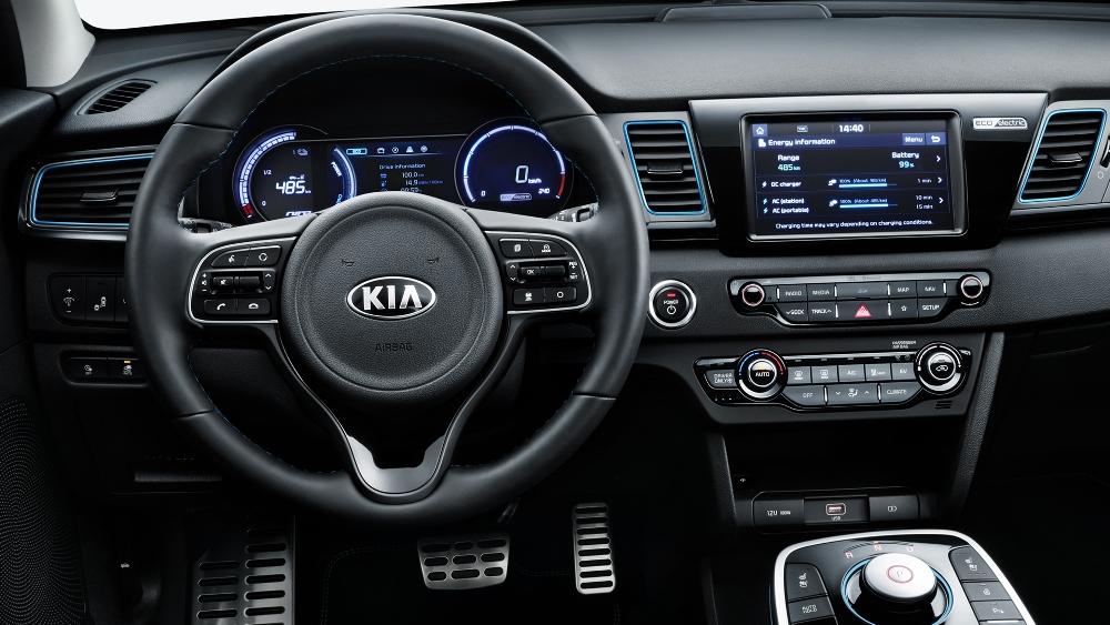 El KIA e-Niro eléctrico promete hasta 485 kilómetros de autonomía bajo WLTP