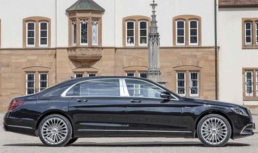 El Mercedes Clase S (y la versión Maybach) pasa por el rodillo de Hofele Design