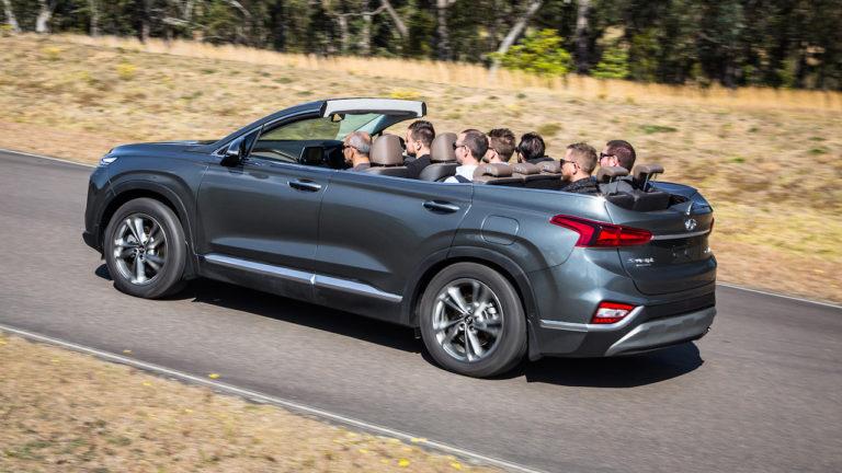 Existe un Hyundai Santa Fe Cabrio, pero no lo verás en los concesionarios