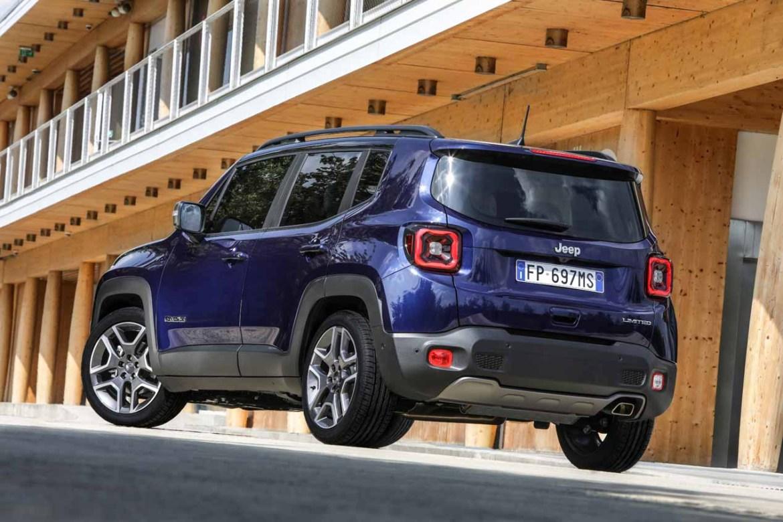 El Jeep Renegade híbrido enchufable llegará en 2020 y se fabricará en Italia