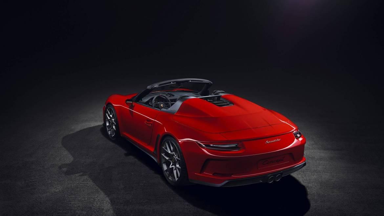 Porsche 911 Speedster: antesala desde París