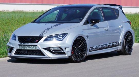JE Design vuelve para poner la nota macarra al SEAT León Cupra 300