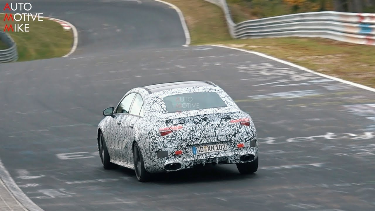 2020 MERCEDES-AMG CLA35 SPIED TESTING AT THE NÜRBURGRING