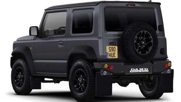 ¿Quieres convertir estéticamente tu Suzuki Jimny en un Land Rover Defender? Ahora puedes