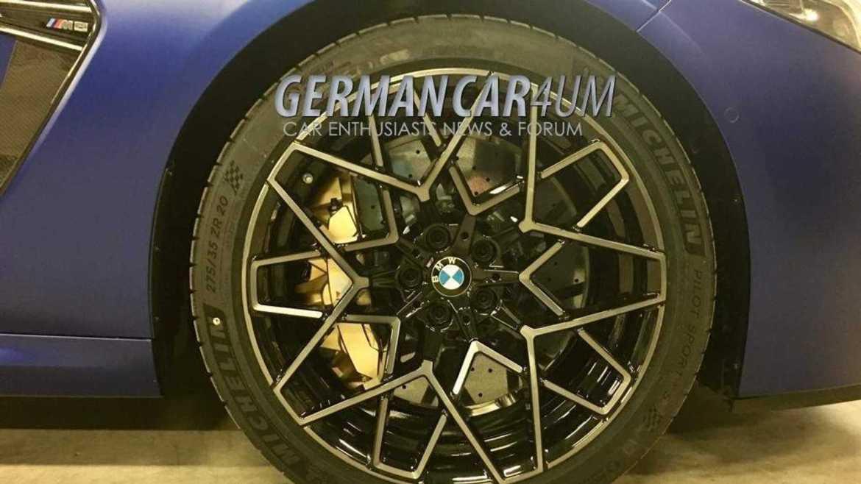 BMW M8 Competition, ¡al desnudo!
