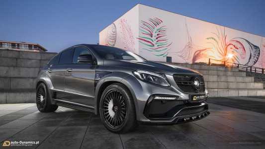 Project Inferno: Así es el Mercedes-AMG GLE 63 S Coupé con 817 CV de potencia
