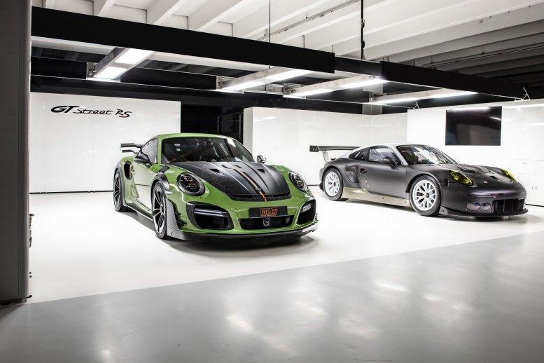TechArt GTstreet RS: 770 CV de puro músculo sobre el Porsche 911 Turbo S