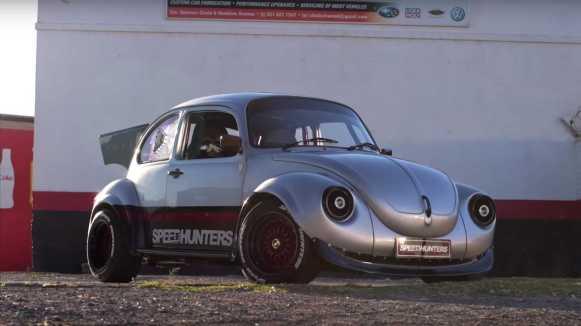 Este Volkswagen Escarabajo tiene corazón Subaru y un aspecto que no pasa desapercibido