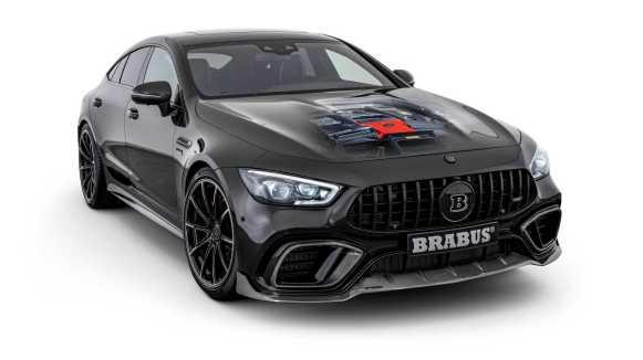 BRABUS extrae 800 CV al Mercedes-AMG GT 63 S Coupé bajo un aspecto más siniestro
