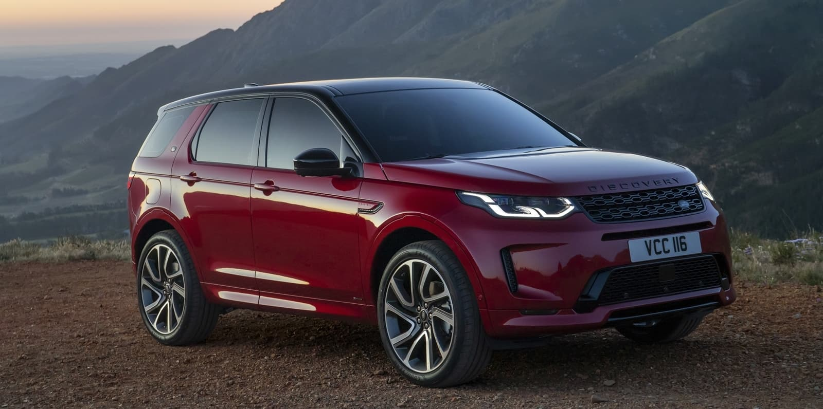 2020 Land Rover Discovery Sport Spy Shoot