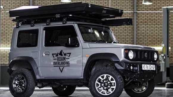 ¿Es posible camperizar el Suzuki Jimny?  Roam Overlanding lo ha hecho posible
