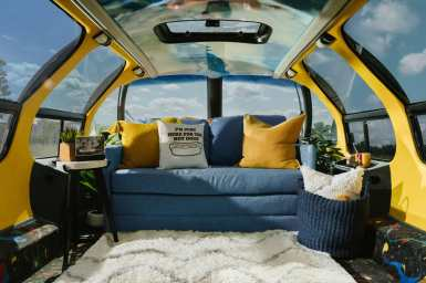 ¿Estarías dispuesto a pagar por dormir en el coche salchicha de Oscar Mayer?