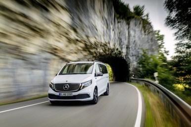 Mercedes-Benz EQV: La furgoneta eléctrica con 405 km de autonomía que se fabricará en España