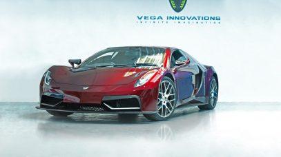 Vega EVX Electric: Superdeportivo eléctrico de 815 CV con rumbo a Ginebra