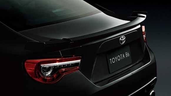 Toyota GT86 Black Limited: 86 unidades limitadas al mercado japonés