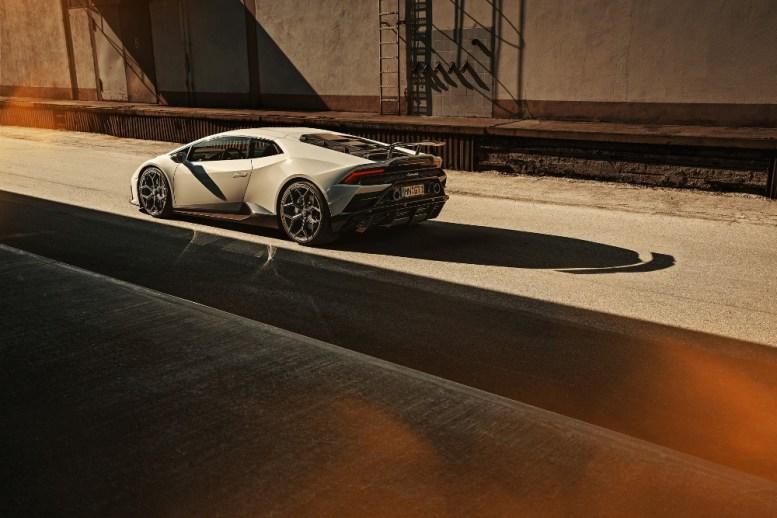 El Lamborghini Huracán EVO de Novitec recibe una dosis de fibra de carbono