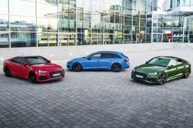 Audi rueda más de 8.000 km con cada modelo RS en Nürburgring durante su desarrollo