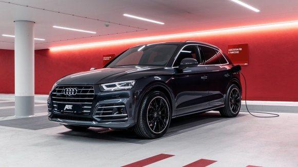 El Audi Q5 TFSI híbrido de ABT llega a los 425 CV y 550 Nm de par