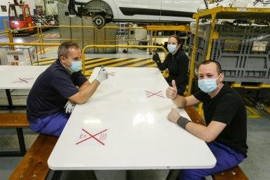 Ford Almussafes trata de volver a la normalidad: Reinicia hoy su producción