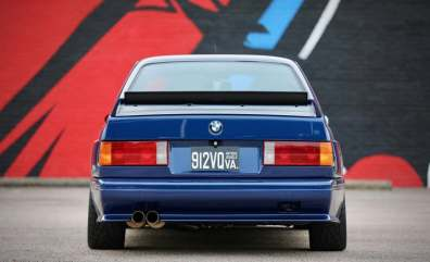 Este BMW M3 E30 tiene un motor de BMW M3 E46 y ahora está en subasta