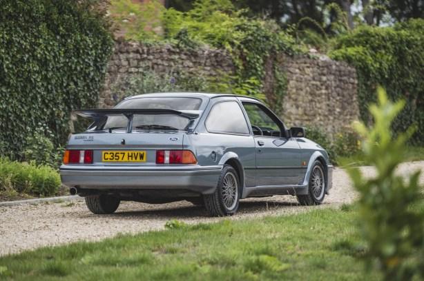 Este Ford Sierra RS Cosworth es muy especial y ahora está a la venta: Te contamos por qué