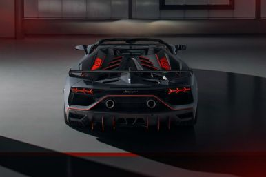 Jorge Lorenzo estrena su nuevo Lamborghini Aventador SVJ 63 Roadster