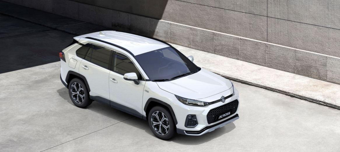 Suzuki Across: Híbrido enchufable basado en el Toyota RAV4