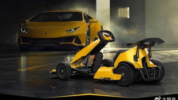 Xiaomi Ninebot GoKart Pro Lamborghini Edition: El kart eléctrico creado con ayuda de Lamborghini