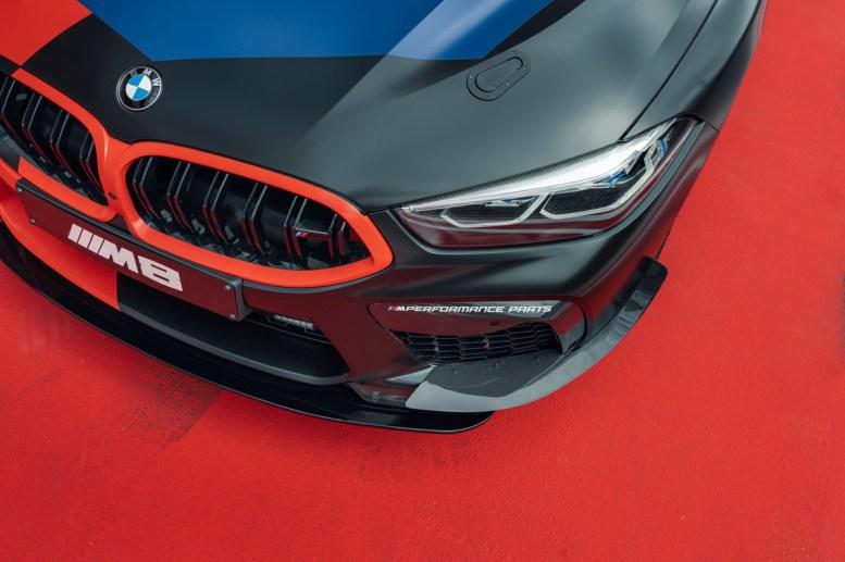 Y el nuevo Safety Car de MotoGP es... el BMW M8 Gran Coupé