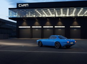 Volvo P1800 Cyan: Así es este restomod que podría llegar a producción