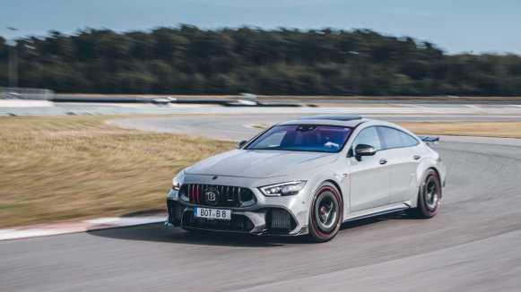 Mercedes-AMG GT Rocket 900: 900 CV, 1.250 Nm de par y una carrocería convenientemente dopada
