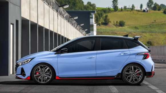 ¡Oficial! El Hyundai i20 N 2021 tiene 204 CV, caja de cambios manual y una estética que no pasa desapercibida