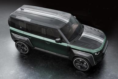 Carlex Design Land Rover Defender Racing Green Edition: Una agresiva preparación con aroma británico