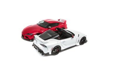 Este Toyota GR Supra Sport Top es un guiño al Supra de cuarta generación