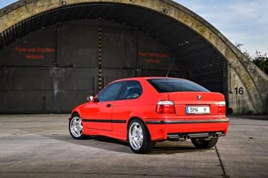 Así es el único M3 E36 Compact fabricado por BMW