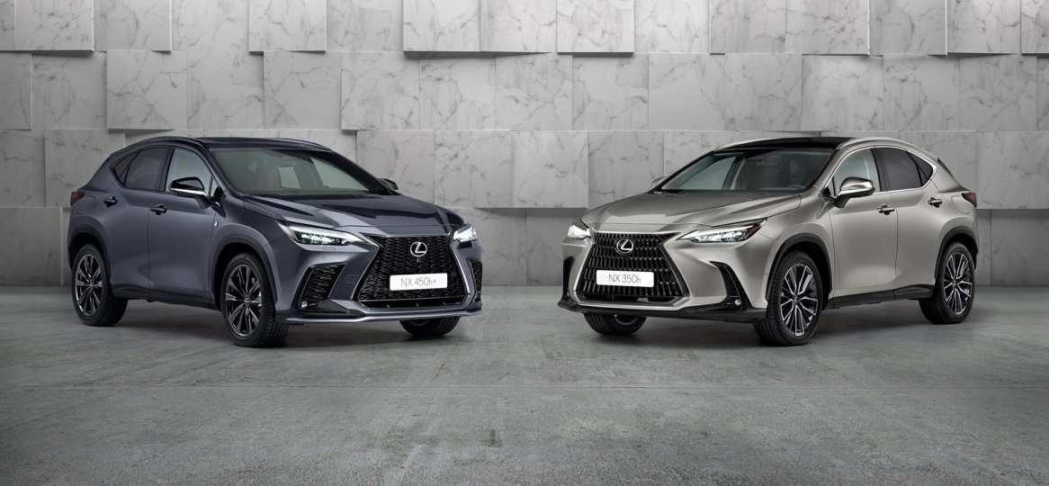 Lexus NX 2021: La nueva generación llega con motores híbridos e híbridos enchufables