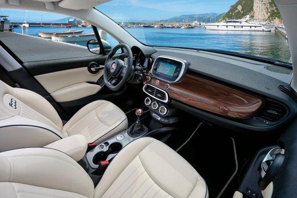 El Fiat 500X Yachting ya es oficial: Cinco puertas y a cielo abierto