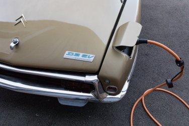 Este icónico Citroën DS ha sido restaurado y ahora es 100% eléctrico